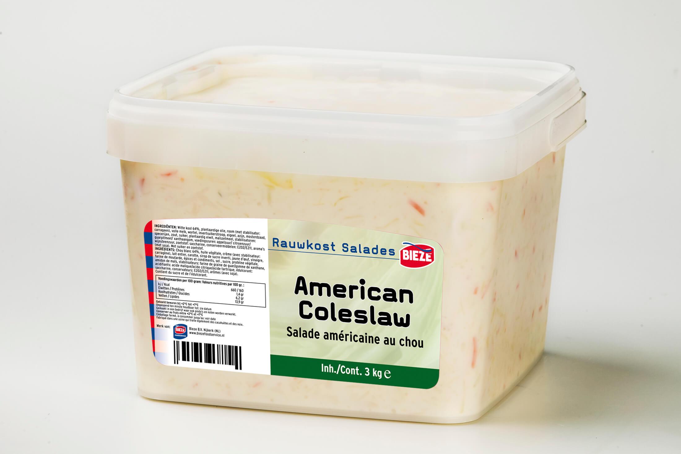 AMERICAN COLESLAW - bak