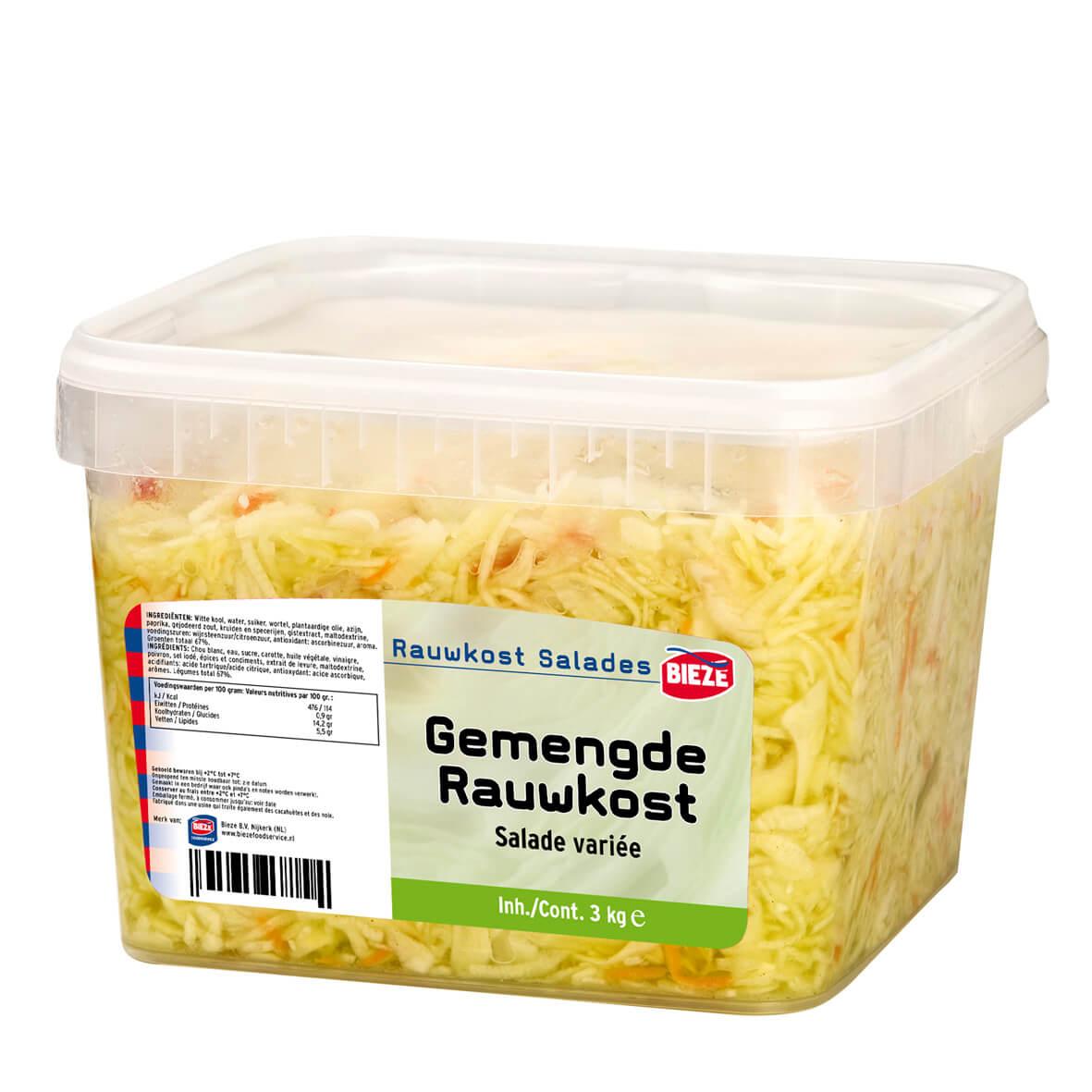 GEMENGDE RAUWKOST - emmer