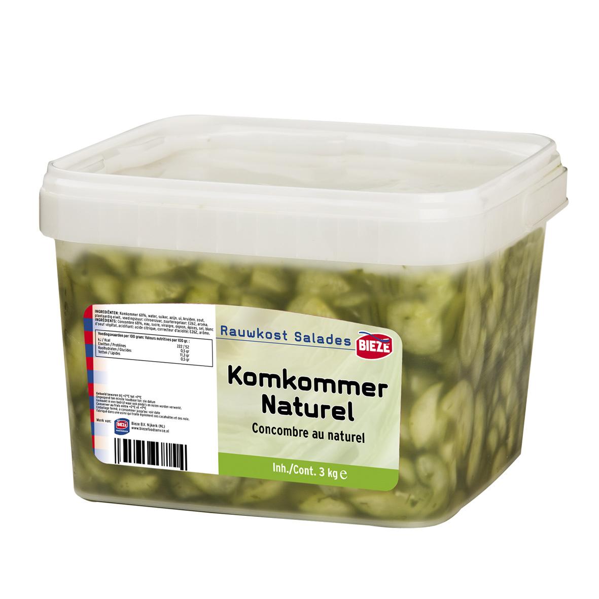 KOMKOMMER NATUREL - emmer