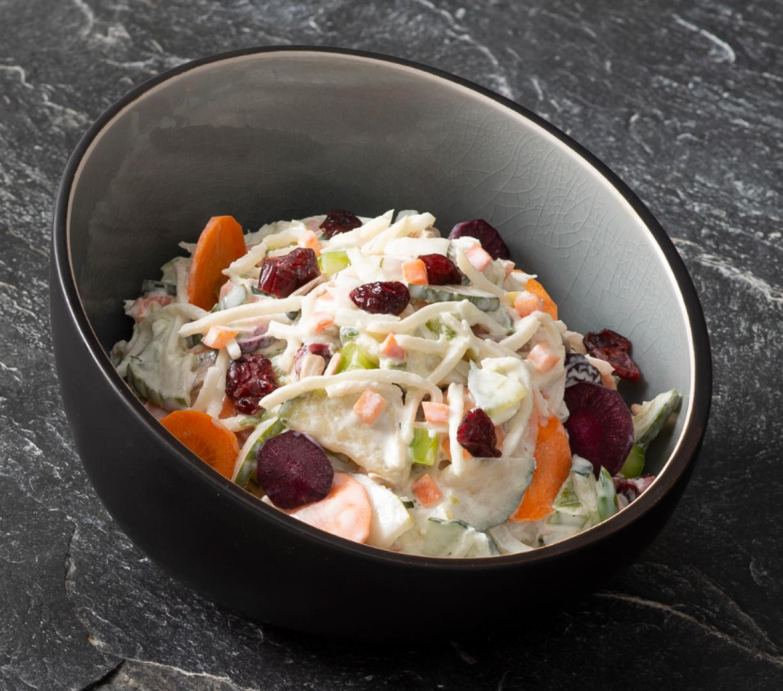 4-Jaargetijden salade met wintergroenten