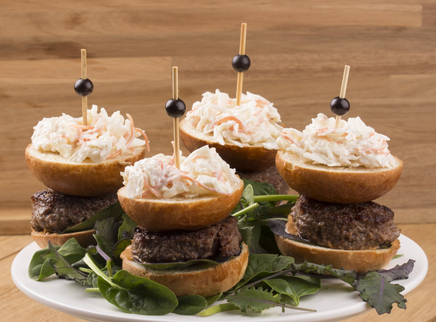 American Coleslaw Burger